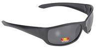 Road Wrap - Smoke Polarized/Black