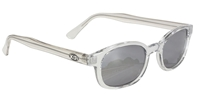 Chill KD's - Clear Frame Silver Mirror