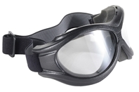 The Beast - Clear/Black - Can Be Worn Over Some Eyeglasses!
