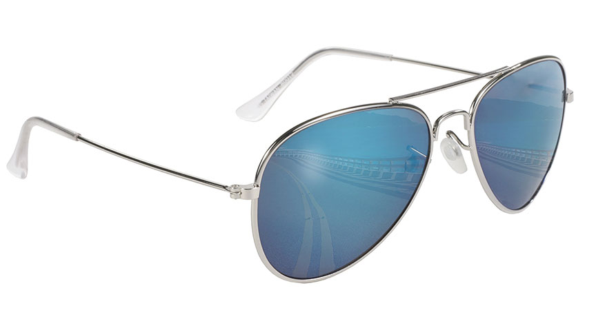 Aviator - Blue Mirror/Silver 80012
