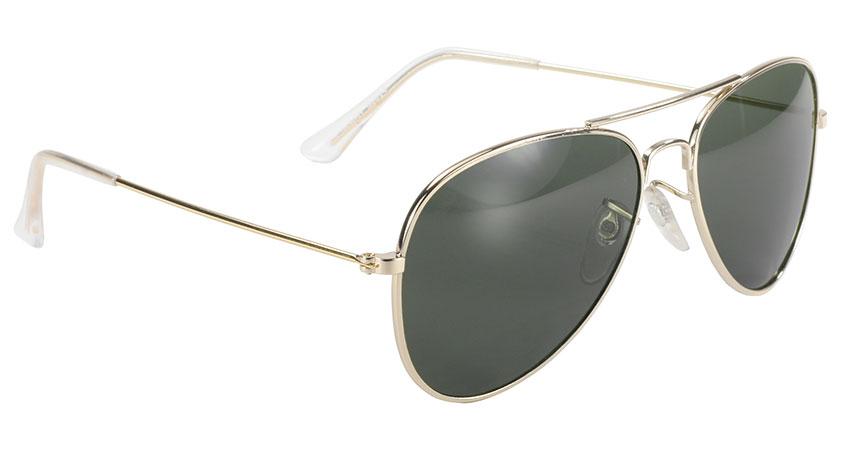 80a684fefa ... Aviator - Grey Green Lens Gold Frame - 80013 ...
