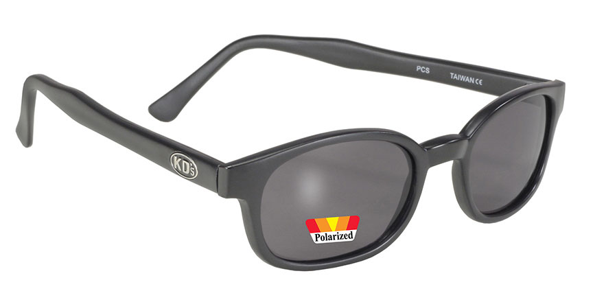 4552f8d40d987 X - KDs - 10019 Matte Black Frame Polarized Grey Lens kds