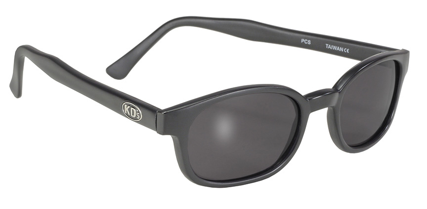 X - KD's - 11120 Matte Black/Dark Grey Lens kds, 2126