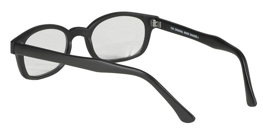 KD's Original 1 Pair Clear Lens Old School Biker Motorcycle Sunglasses 20015