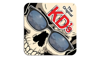 bc26dd56dc4 Original KDs  Felt  Skull Coaster