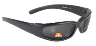 Rally - Matte Black/Polarized Grey Lens