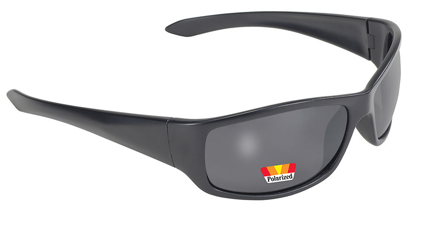 Road Wrap - Smoke Polarized/Black 207