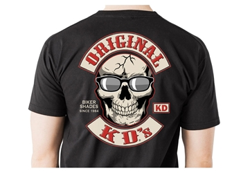 KD T-Shirt X-large Motorcycle T-Shirt, Biker T-Shirt, Original KDs Sunglasses T-Shirt, XL Motorcycle T-Shirt 494