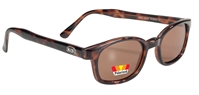 X - KD's - 10029 Dark Demi Frame/Amber Polarized