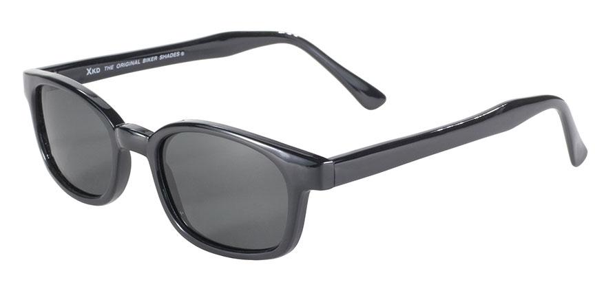 KD's 1 Pair Grey Polarized Lens Old School Biker Motorcycle XL Sunglasses 1019
