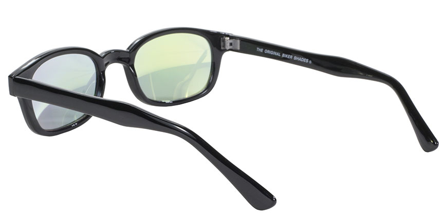 KD's Original 1 Pair Clear Colored Mirror Lens Old School Biker Sunglasses 20114