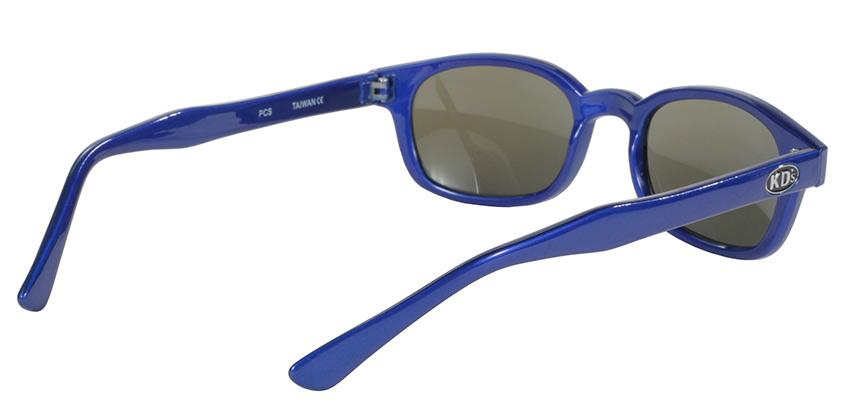 KD's Original 1 Pair Blue Ice Blue Mirror Lens Old School Biker Sunglasses 20122