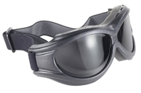 The Beast - Smoke/Black - Can Be Worn Over Some Eyeglasses!