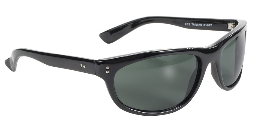 Dirty Harry - Grey Green Lens/Black Most popular wrap motorcycle sunglass, gray-green lens, cheap sunglasses with good quality, bestselling sunglasses