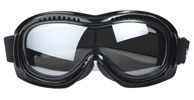 Airfoil 9300 - Smoke Silver - Can Be Worn Over Eyeglasses! Fit over goggle, best fit over goggle, Airfoil Fit Over Goggle, motorcycle goggles, Fits over prescription glasses