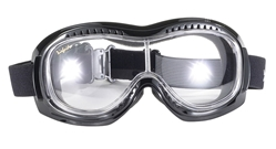 Airfoil 9305 - Clear -         Can Be Worn Over Eyeglasses! Fit over goggle, best fit over goggle clear lens, Airfoil Fit Over Goggle, motorcycle goggles, goes over prescription glasses