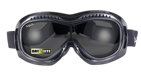 Airfoil 9311 Goggle - Day2Nite Grey/Black- Can Be Worn Over Eyeglasses! Fit Over Goggle, Airfoil Fit Over Goggle, Fit Over with Photochromic Lenses, Goggle That Fits Over Glasses
