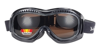 Airfoil 9329 - Polarized BROWN - Can Be Worn Over Eyeglasses!